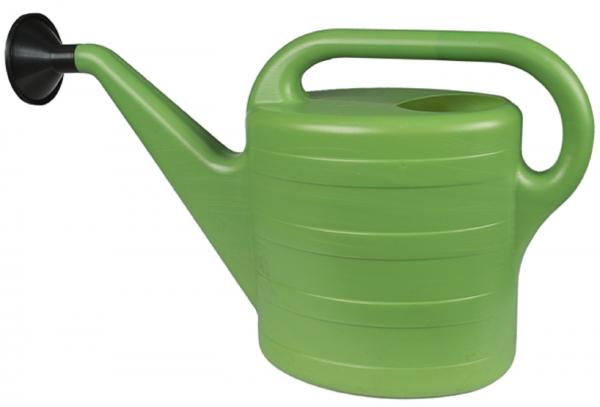Gießkanne mit Tülle Wasserkanne Spritzkanne Kunststoff 5 Liter 10 Liter grün NEU