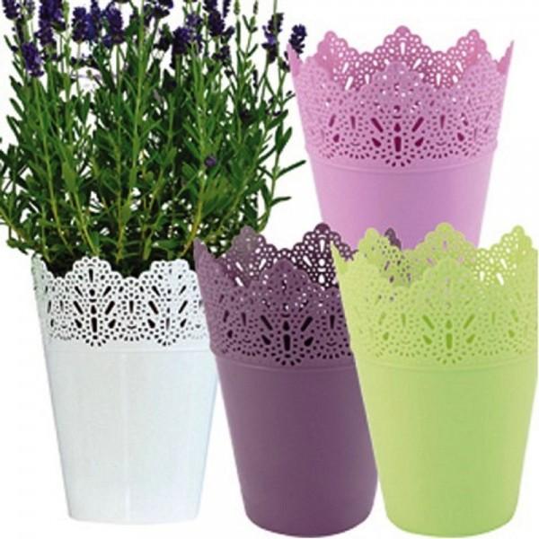 Blumentopf Pflanzkübel Orchideentopf Kosmetik Schreibtischköcher Neu