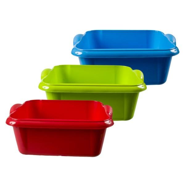 Schüssel Lagerkiste Wanne Wäschewanne Aufbewahrungsbox Multibox 10 Liter NEU