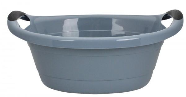 Wäschewanne Haushaltswanne Kunststoffwanne Wäschebox Wanne 25 Liter Grau Neu