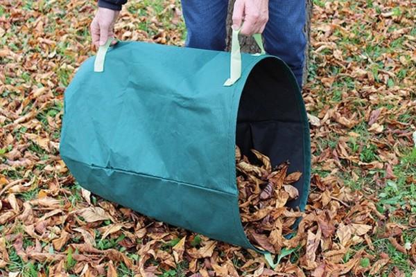 Laubsack Gartensack Grüngutsack Sack für Gartenabfälle Rasenschnitte 240 Liter Neu