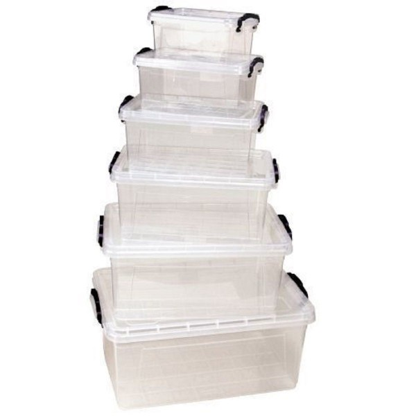 Aufbewahrungsbox Multibox Stapelbox Box Deckel 1,7L 3L 5 L 8,5 L 13,7 L 22 L NEU