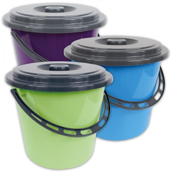 Eimer Wassereimer Kunststoffeimer Haushaltseimer Windeleimer 5 Liter Neu