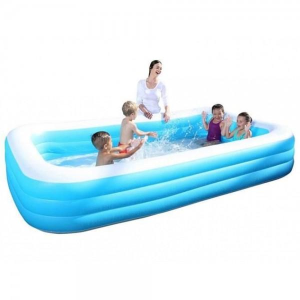 Kinderpool Pool Planschbecken Schwimmbad aufblasbar 305 x 183 x 56 cm Bestway
