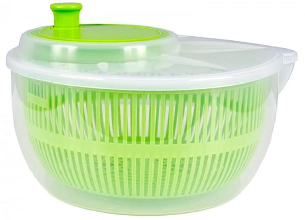 Salatschleuder Salatschüssel Sieb 24 cm Durchmesser versch. Farben Centi NEU