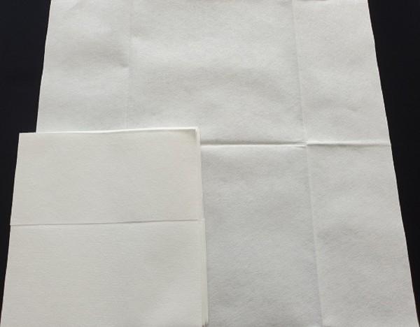 Mikrofasertücher Putztücher Vlies 10 Stück weiß 40 x 38cm