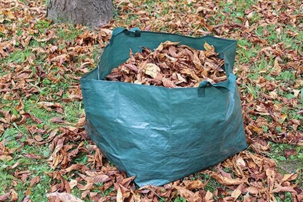 Laubsack Gartensack Gartenabfälle Grüngut 150 Liter strapazierfähig Rasenschnitte Sack Neu