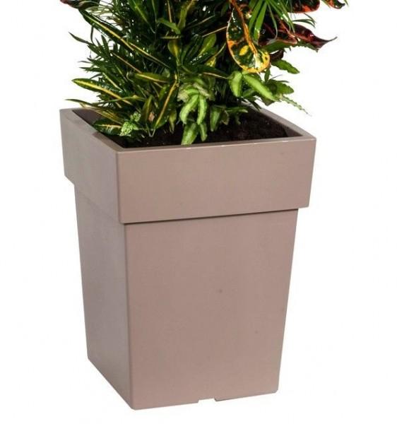 Pflanzentopf Blumentopf Blumenkübel mit Untersetzer versch Größen und Farben NEU